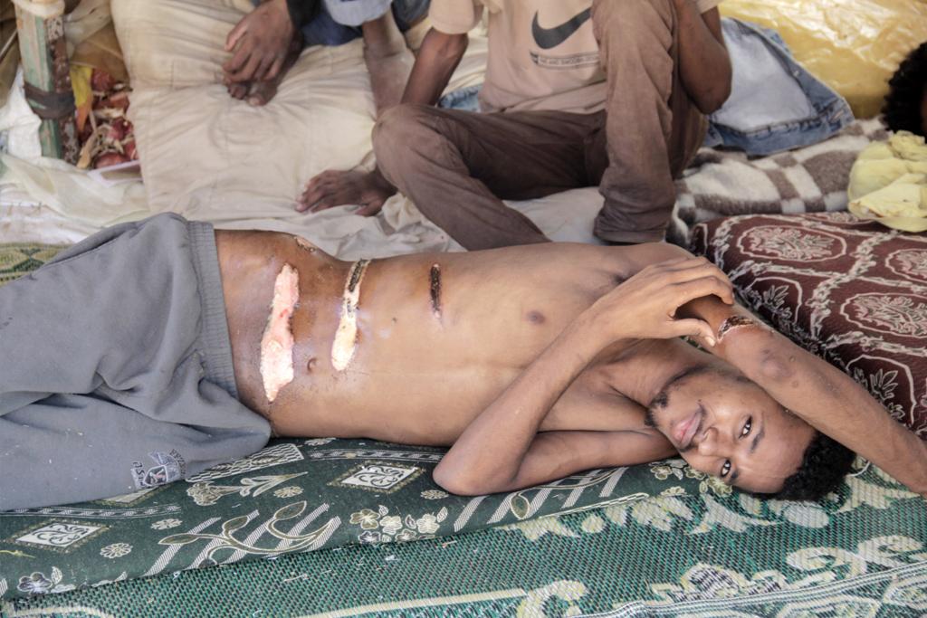 Menschenhandel im Sinai