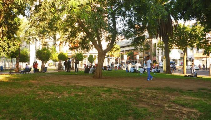 Levinsky Park in Tel Aviv